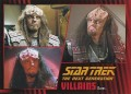 Star Trek The Next Generation Heroes Villains Trading Card 57