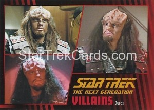 Star Trek The Next Generation Heroes Villains Trading Card 571