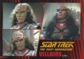Star Trek The Next Generation Heroes Villains Trading Card 581