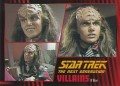 Star Trek The Next Generation Heroes Villains Trading Card 59