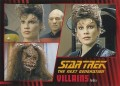 Star Trek The Next Generation Heroes Villains Trading Card 601