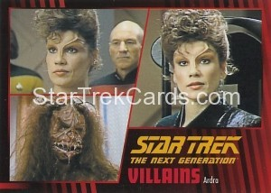 Star Trek The Next Generation Heroes Villains Trading Card 601