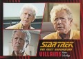 Star Trek The Next Generation Heroes Villains Trading Card 621