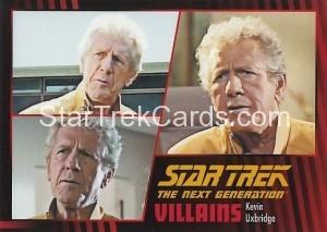 Star Trek The Next Generation Heroes Villains Trading Card 621