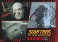 Star Trek The Next Generation Heroes Villains Trading Card 631