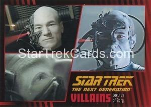 Star Trek The Next Generation Heroes Villains Trading Card 631