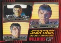 Star Trek The Next Generation Heroes Villains Trading Card 65
