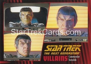 Star Trek The Next Generation Heroes Villains Trading Card 651