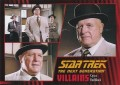 Star Trek The Next Generation Heroes Villains Trading Card 661