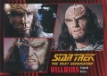 Star Trek The Next Generation Heroes Villains Trading Card 671