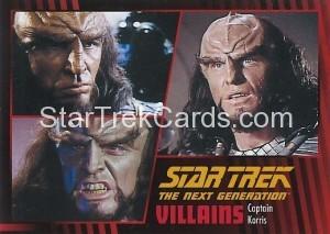 Star Trek The Next Generation Heroes Villains Trading Card 671