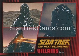 Star Trek The Next Generation Heroes Villains Trading Card 681