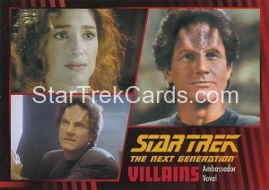 Star Trek The Next Generation Heroes Villains Trading Card 69