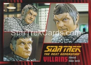 Star Trek The Next Generation Heroes Villains Trading Card 70