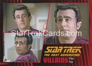 Star Trek The Next Generation Heroes Villains Trading Card 71