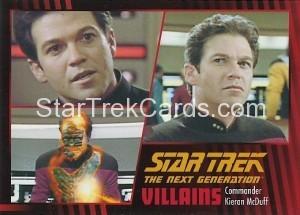 Star Trek The Next Generation Heroes Villains Trading Card 72
