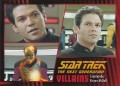 Star Trek The Next Generation Heroes Villains Trading Card 721