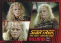 Star Trek The Next Generation Heroes Villains Trading Card 741