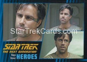 Star Trek The Next Generation Heroes Villains Trading Card 76