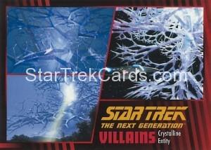 Star Trek The Next Generation Heroes Villains Trading Card 77