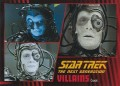 Star Trek The Next Generation Heroes Villains Trading Card 79
