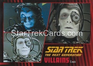 Star Trek The Next Generation Heroes Villains Trading Card 791