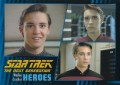 Star Trek The Next Generation Heroes Villains Trading Card 8