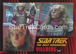 Star Trek The Next Generation Heroes Villains Trading Card 801
