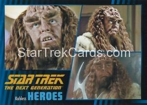 Star Trek The Next Generation Heroes Villains Trading Card 81