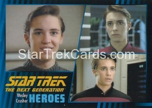 Star Trek The Next Generation Heroes Villains Trading Card 810