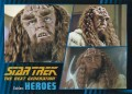 Star Trek The Next Generation Heroes Villains Trading Card 811