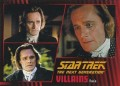 Star Trek The Next Generation Heroes Villains Trading Card 821