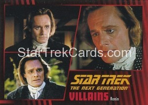 Star Trek The Next Generation Heroes Villains Trading Card 821