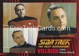 Star Trek The Next Generation Heroes Villains Trading Card 841