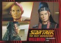 Star Trek The Next Generation Heroes Villains Trading Card 851
