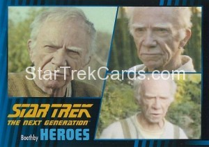 Star Trek The Next Generation Heroes Villains Trading Card 861