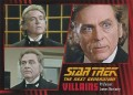 Star Trek The Next Generation Heroes Villains Trading Card 871