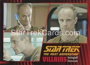 Star Trek The Next Generation Heroes Villains Trading Card 88