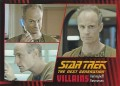 Star Trek The Next Generation Heroes Villains Trading Card 881