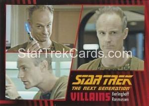 Star Trek The Next Generation Heroes Villains Trading Card 881