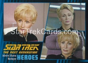 Star Trek The Next Generation Heroes Villains Trading Card 89