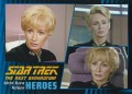 Star Trek The Next Generation Heroes Villains Trading Card 891