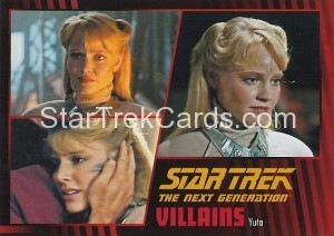 Star Trek The Next Generation Heroes Villains Trading Card 90