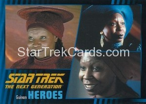 Star Trek The Next Generation Heroes Villains Trading Card 910