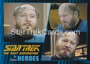 Star Trek The Next Generation Heroes Villains Trading Card 92