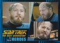 Star Trek The Next Generation Heroes Villains Trading Card 921