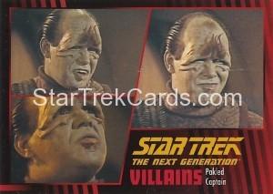 Star Trek The Next Generation Heroes Villains Trading Card 93