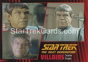Star Trek The Next Generation Heroes Villains Trading Card 96