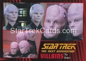 Star Trek The Next Generation Heroes Villains Trading Card 971