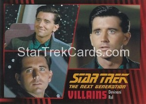Star Trek The Next Generation Heroes Villains Trading Card 981